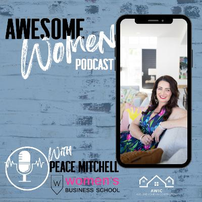 Peace Mitchell is a keynote speaker, author, CEO and co-founder of The Women's Business School & AusMumpreneur, host of Women will change the World TV and Australian Ambassador of Women in Tech