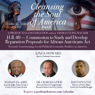 Dismantling Racism, An Examination of Proposition HR 40 - Towards Transforming Social-Political-Economic Realities in America