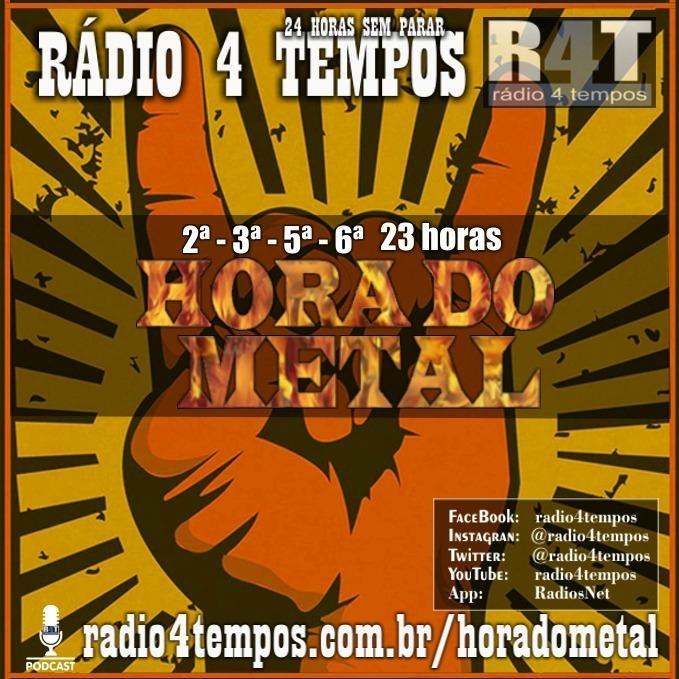 Rádio 4 Tempos - Hora do Metal 34:Rádio 4 Tempos