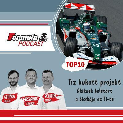 S02EP01 – Tíz bukott F1-es projekt