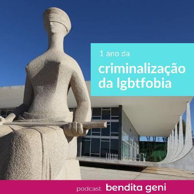 1 ano da criminalização da LGBTfobia