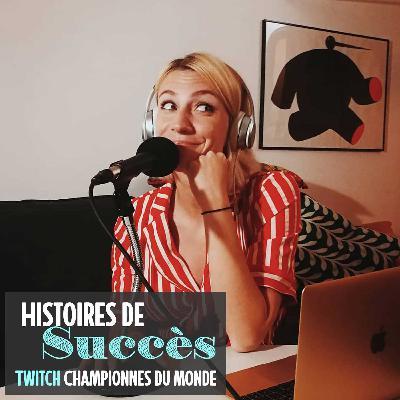 Cléo Henin, la voix du podcast Championnes du Monde (replay twitch)