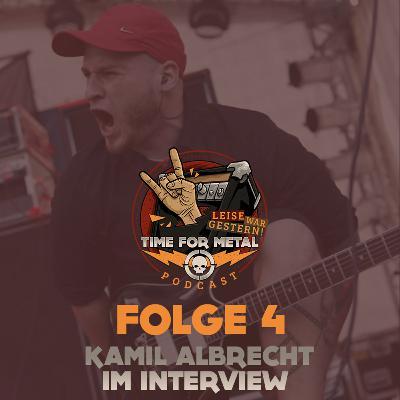 Folge 4 - Kamil Albrecht (Sänger bei Cyrcus, Syranic, Eleonore, Filmer, Podcaster und Senior Nurse Royal Caribbean) im Interview