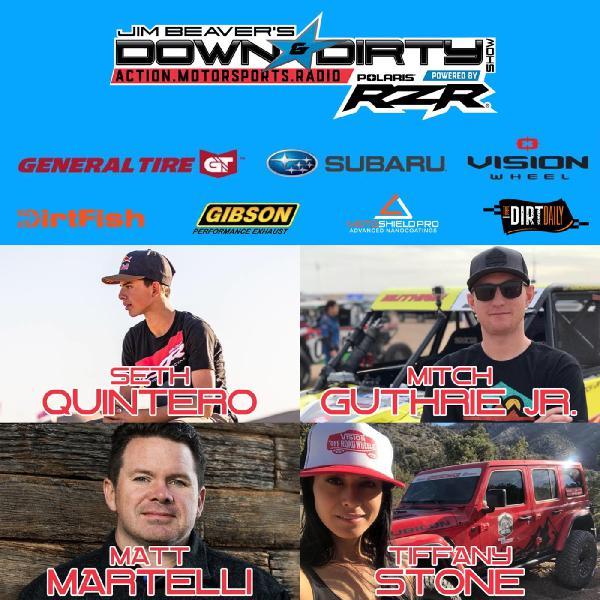#368 – Mitch Guthrie Jr, Matt Martelli, & Seth Quintero On Air!
