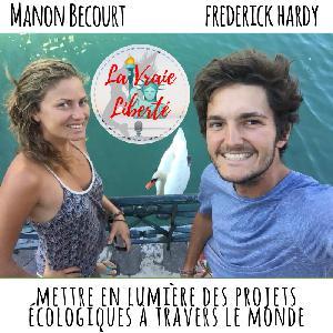 METTRE EN LUMIERE DES PROJETS ECOLOGIQUE A TRAVERS LE MONDE  – Manon  & Frederick