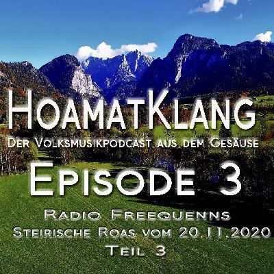Hoamatklang_Episode_3_Steirische Roas 20.11.2020 Teil 3
