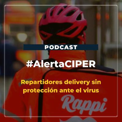 """Capítulo 12 """"Repartidores delivery sin protección ante el virus"""""""