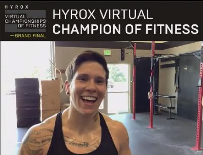 Ehea Schuerch - HYROX VCF Champion
