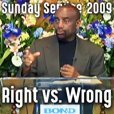 The Spirit Behind Black Racism and White Fear (Sunday Service 7/26/09)