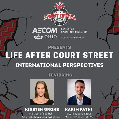 Life After Court Street, International Perspectives from Athens with Karim Fathi and Kirsten Grohs