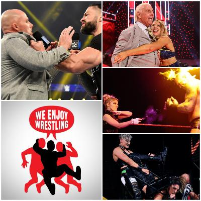 Ep 147 - The End of an Eric (WWE TV, NXT New Year's Evil & BIG NEWS)