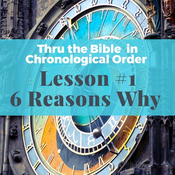 The Six Benefits of reading (or listening to) the Bible in Chronological order