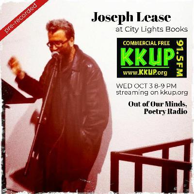 Joseph Lease at City Lights Books on KKUP