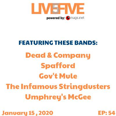 Live 5 - January 15, 2020.