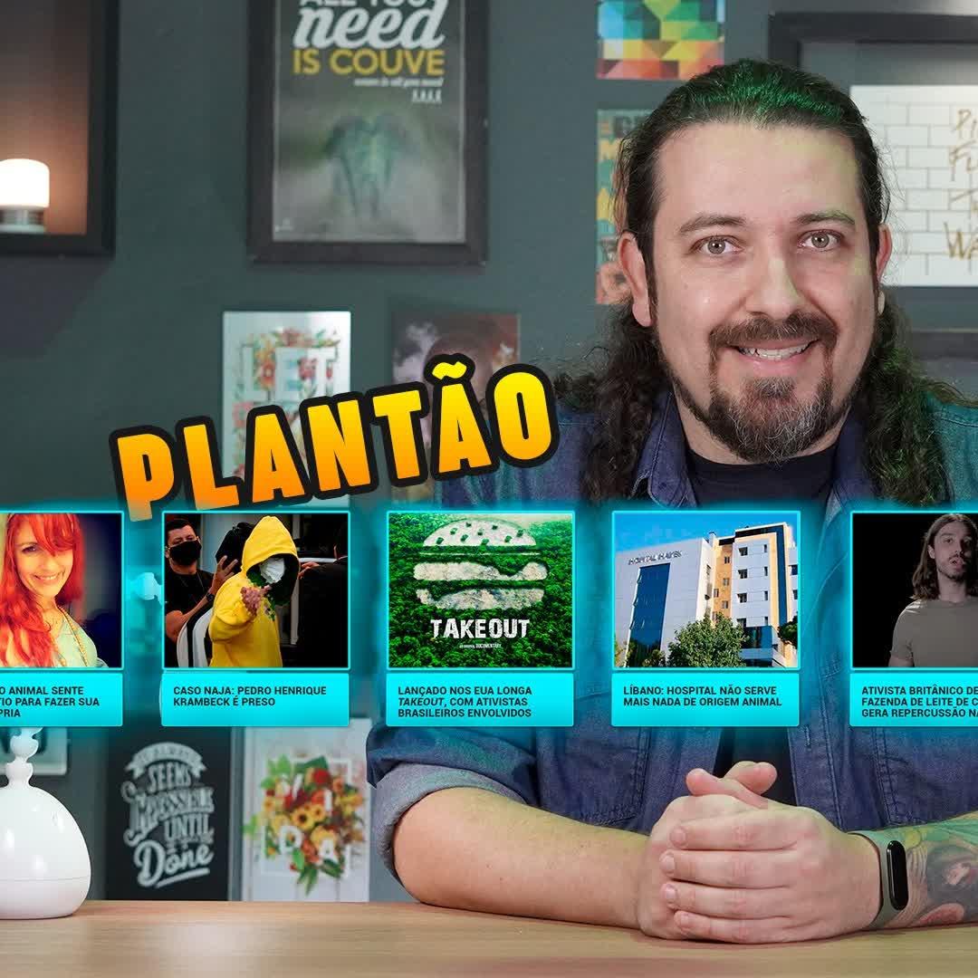 Plantão: estudante picado pela Naja preso + Novo filme vegano que eu participei e mais notícias