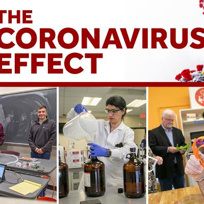 The Coronavirus Effect: Cross-Campus Response