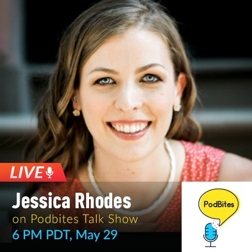 #live Podbites interview with Jessica Rhodes