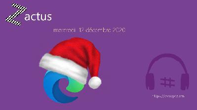 Les Zactus du 12 Décembre 2020