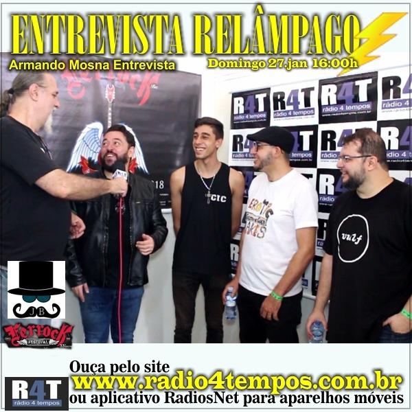 Rádio 4 Tempos - Entrevista Relâmpago 52