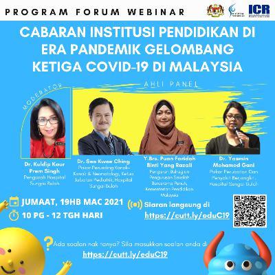 Cabaran Institusi Pendidikan Di Era Pandemik Gelombang Ketiga COVID-19 Di Malaysia