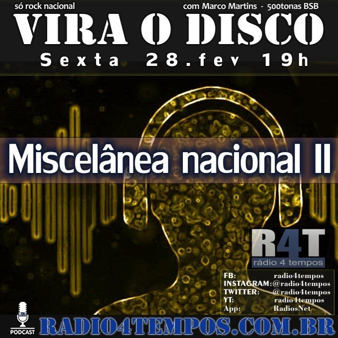 Rádio 4 Tempos - Vira o Disco 56:Rádio 4 Tempos