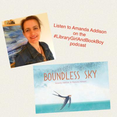 An interview with author & illustrator Amanda Addison about 'Boundless Sky.'