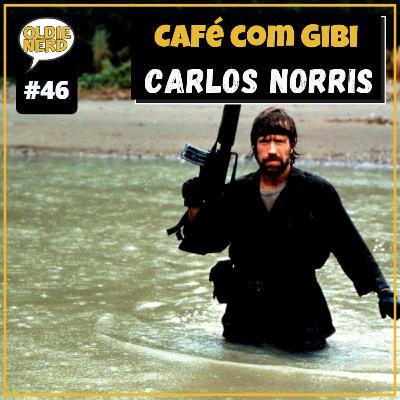 """Café com Gibi 46: Carlos Ray """"Chuck"""" Norris"""