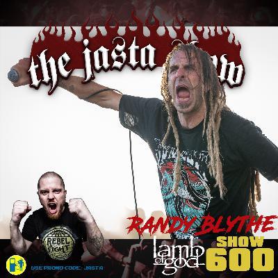 Show #600 - Randy Blythe (Lamb Of God)