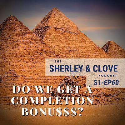 Do we get a completion bonus?