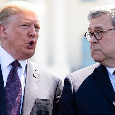 TRUMP THREATENS STATE OF NEW YORK + BILL BARR PUSHES BACK ON TRUMP