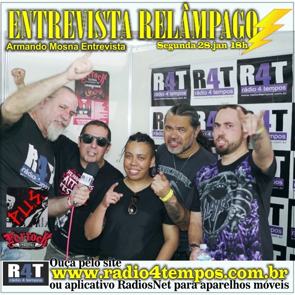 Rádio 4 Tempos - Entrevista Relâmpago 74