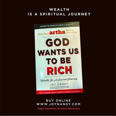 Artha - God Wants Us To Be Rich – We Are Meant To Be Prosperous