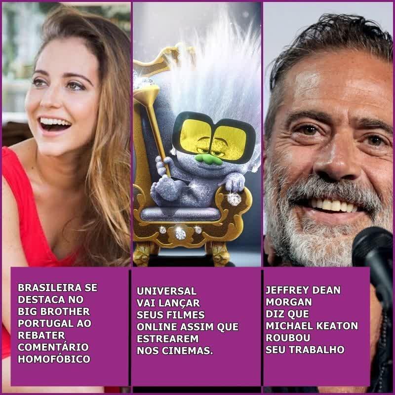 Brasileira se destaca no Big Brother Portugal,Jeffery Dean Morgan acusa Michael Keaton de roubar seu trabalho e muito mais..| UaiCast #49