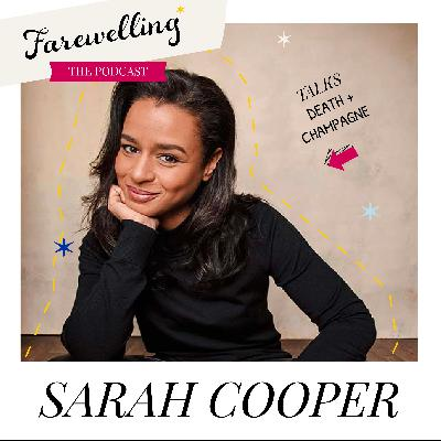 Death and Pink Champagne: Comedian Sarah Cooper Makes us Laugh...and Cry!