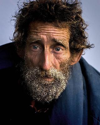 """September 20 - A Homeless Man Says, """"I'm so Lucky!"""""""