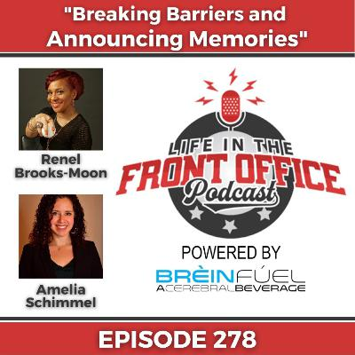 Breaking Barriers and Announcing Memories with Renel Brooks-Moon and Amelia Schimmel