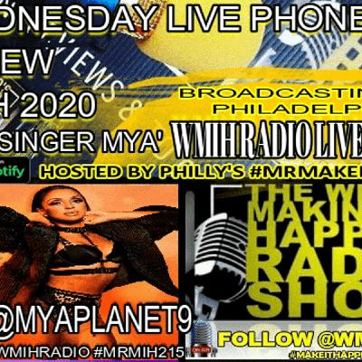 MIH Wed Live Replay Mya Phone Interview 12/09/2020