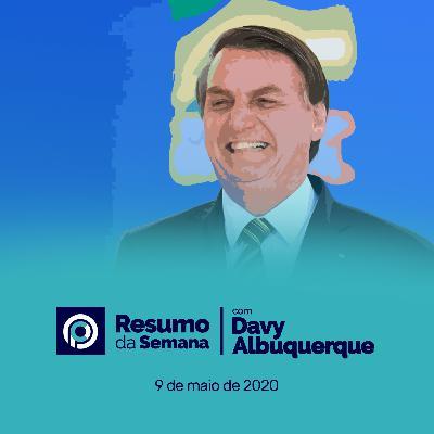 Resumo da Semana #3 - Bolsonaro lidera pesquisa de intenção de votos para 2022