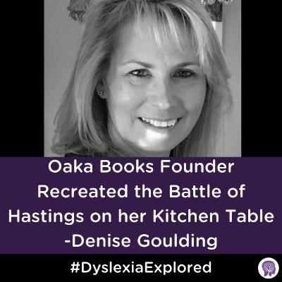 #94 Oaka Books Founder Recreated the Battle of Hastings on her Kitchen Table!