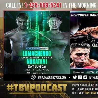 ☎️ Mario Barrios vs Gervonta Davis❓Vasiliy Lomachenko vs Masayoshi Nakatani🔥 ESPN' DEBATE😱