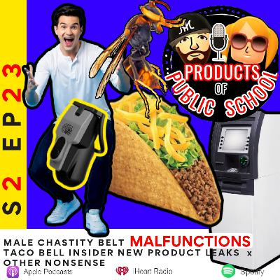 Junk Trunk: Male Chastity Belt MALFUNCTIONS x Taco Bell New Product Leaks