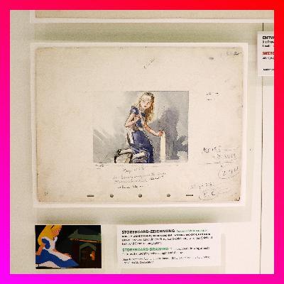 #4 - Die Alice-Zeichnung von ALICE IN WONDERLAND