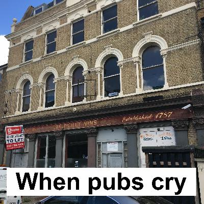 When Pubs Cry: beer walks, gout, pub tales, sofas & dossers, set in South London