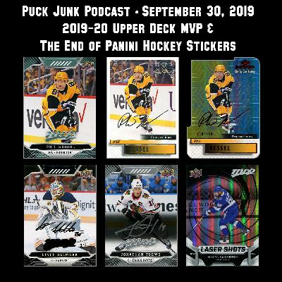 2019-20 Upper Deck MVP Hockey Cards | #26 | 9/30/2019