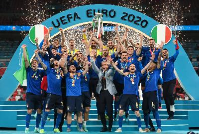 22: Italy are EURO 2020 champions!