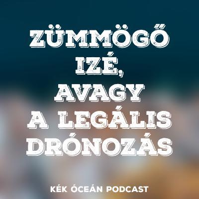 Mi kell a legális drónozáshoz? & Új dróntörvény nyáron | Kék Óceán Podcast #21