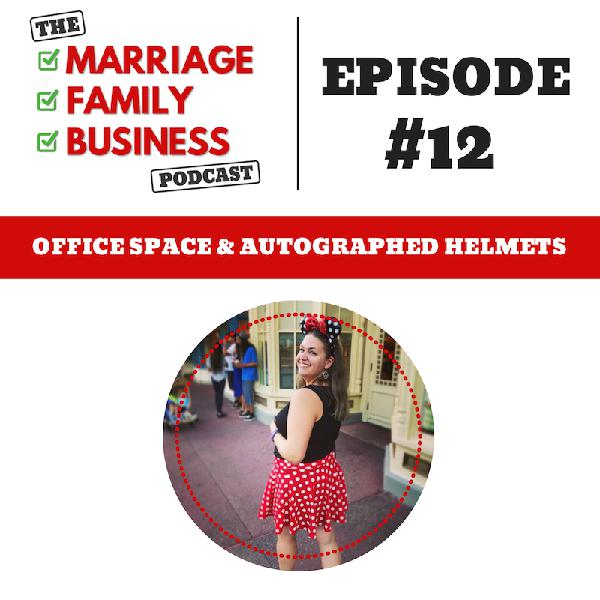 Office Space & Autographed Helmets EP 12