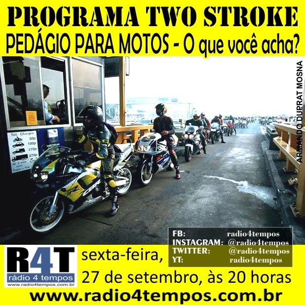 Rádio 4 Tempos - Two Stroke 71:Rádio 4 Tempos
