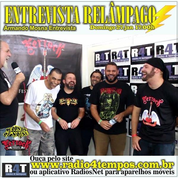 Rádio 4 Tempos - Entrevista Relâmpago 54