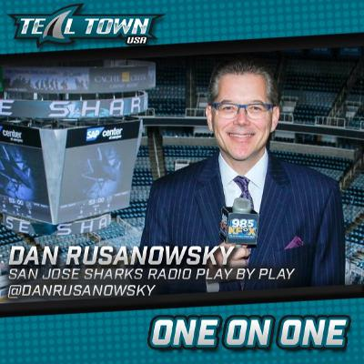 One On One With Dan Rusanowsky, San Jose Sharks Radio Play By Play